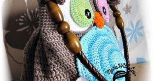 Crochet PATTERN, Crochet Bag Pattern,Bag Jolly Owl, Owl Purse, DIY Pattern 28