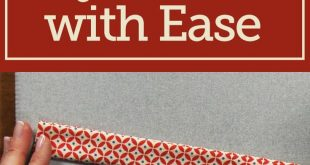 How to Sew Bag Handles with Ease