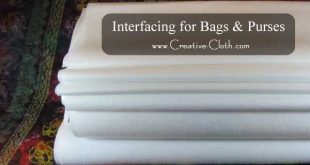 Interfacing for Bags and Purses