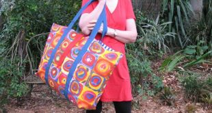 No Frills Extra Large Tote Tutorial...