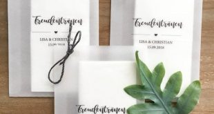 """10 customizable transparency bags for """"tears of joy"""""""