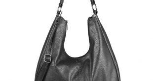 DAMENTASCHE XXL Shopper Hobo-Bag Schultertasche Umhängetasche Leder Optik Bag: ...