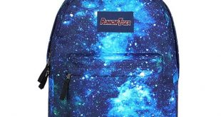 High School Backpack Galaxy All Over Prints Travel Bag Bookbag Hiking Outdoor Bag for Teens