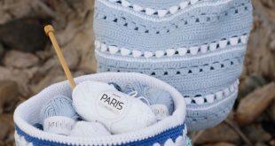 So einfach, diese Ablagekörbe zu häkeln - Crochet: Hogar - So einfach, diese...