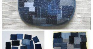 20 Upcycled Demin Jean Bag