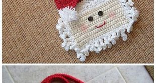 Christmas Crochet Santa Bag Free Crochet Patterns