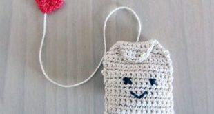 Handmade Crochet Amigurumi Play Food Tea Bag ...