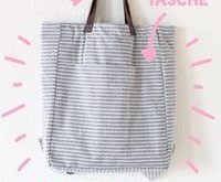 It's Tutorial Time! – Totebag-Rucksack nähen