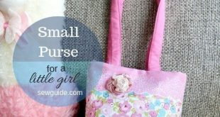 Learn to make small bags for your little kid - to play with and to carry small t...
