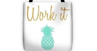 Office Pop II Tote Bag accessory