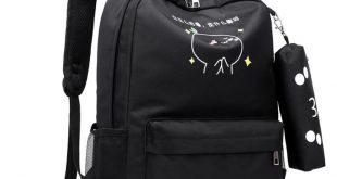 Teen Backpack School Bags for Teenage Girls USB Large Capacity Women Schoolbag Quality Nylon cute cat Back Pack Female BookBag