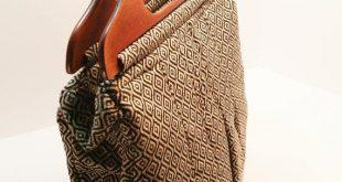 Tote, Hand bag, Handbag with wooden handles, Purse
