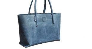XXL Leder Shopper große Ledertasche Weekender Ledereinkaufstasche halbstarr used look handmade