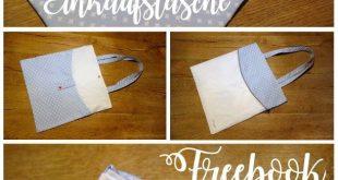 faltbare Einkaufstasche mit Innenfutter: BulliBag+ Freebook