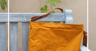Dry Oilskin… meine neue, allerliebste Tasche… mit Tutorial…los geht's!