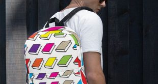 Backpack for Teens, Men, and Women, Backpack with Book Pattern, Backpack Colorful, Back to School Backpack, Backpack Fun, Bag for Books, Bag