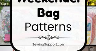 Bag Patterns. 20 free weekender bag sewing patterns, tutorials, and diy projects...