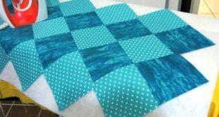 Beautiful bag – a sack of squares. Tutorial