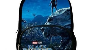 Beliebte neue Black Panther Marvel gedruckt Kinder Schultaschen für Teen Boy Gi...