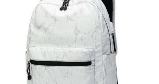 Birthday Gifts for Teenagers : Beautiful Marble Backpack for school and travel (...