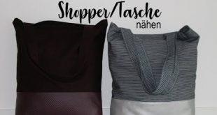 DIY tutorial: Nähanleitung praktischer Stoffbeutel - Stofftasche mit Henkel sel...