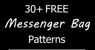 Free messenger bag sewing patterns, tutorials, and diy projects. Cute, crossbody...