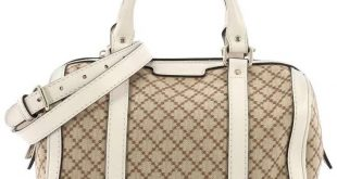 Gucci Vintage Web Boston Bag Diamante Canvas Small #handbagsdubaidutyfree