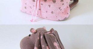Häkeln Sie Rucksack Tasche Muster all die besten Ideen - #bag #besten #die #Hä...