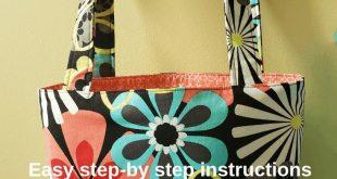 How to Make a Simple Tote Bag - JMB Handmade