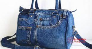 JB05 - Ellipse Jean Handmade Bag