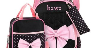 Lovely Bow Schoolbags Cute 2018 Children Orthopedic School Bags For Girls High Quality Cartoon Knapsack For Youth Kids Girls