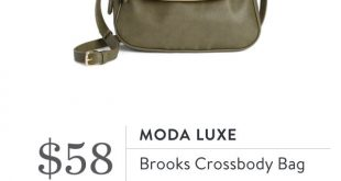 Moda Luxe, Brooks Crossbody Bag - October 2016, #StitchFix #purses2016 #fallcros...