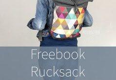 Rucksack nach neuem Freebook - Mondgöttin #Rucksack #nähen #freebook #anfänge...