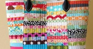 Summer Sewing: 7 Quilted Tote Bag Patterns