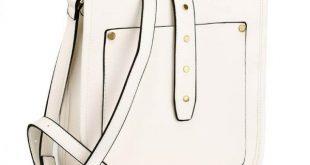 White Fashion Cross Body Shoulder Bag – AG00588