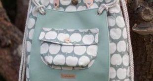 mien Büdel mit Fronttasche (Tasche, Beutel)